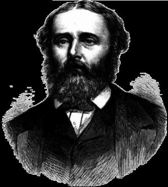 Thomas Ferrier Hamilton - Hamilton, as pictured in The Illustrated Australian News in 1873.