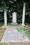 Thomas Jolliffe Monument in churchyard, about 50 metres south east of Church of St Peter and St Paul