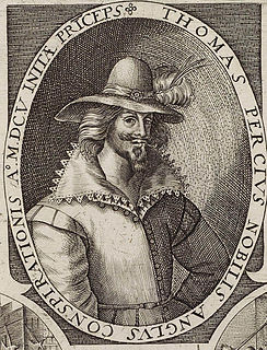 Thomas Percy (Gunpowder Plot) English conspirator