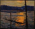 Thomson, Sunset, Canoe Lake 1916.jpg