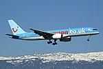 Thomson Holidays (Britannia Airways) Boeing 757-236 G-CDUO (21492979406).jpg