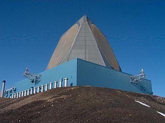 12th Space Warning Squadron - AN/FPS-132 (UEWR) Radar
