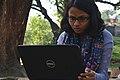 Tilottama Titlee at Wikipedia 15 good article edit-a-thon and adda, Chittagong 1 (06).jpg