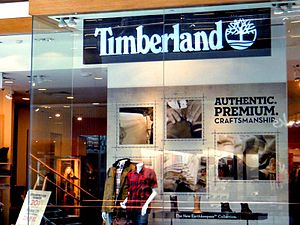 The Timberland Company - Timberland store, Marina Bay Sands, Singapore