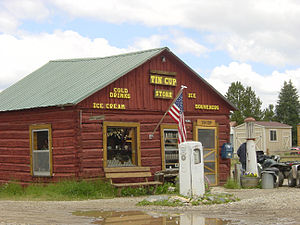 Gunnison County, Colorado - Tincup general store, 2008