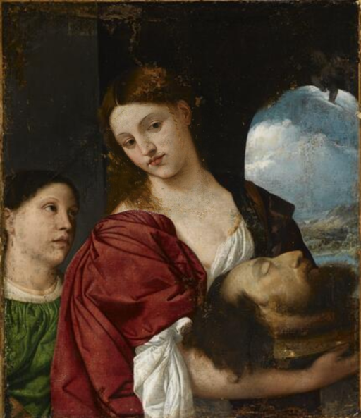 Titian - Salome with Head of John the Baptist