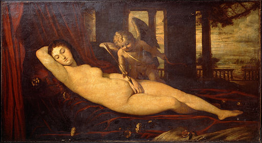 Titian - Sleeping Venus - Google Art Project