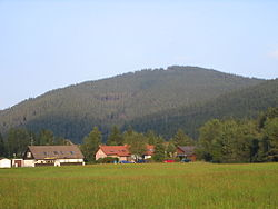 View from Titisee to the Hochfirst