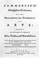Title page from Commercium philosophico-technicum...1763 Wellcome L0001687.jpg