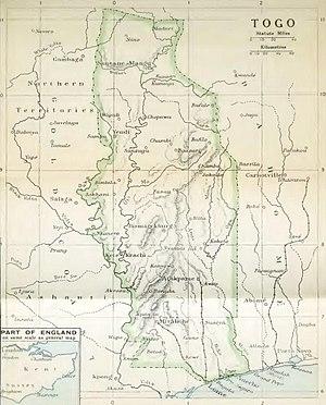 Togoland Campaign - Image: Togoland, 1914