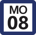 Tokyo Monorail MO-08 station number.png