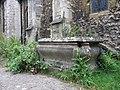 Tomb near the door - geograph.org.uk - 1408159.jpg