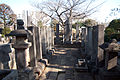 Tombs of Matsumae lords in Kichijoji.jpg