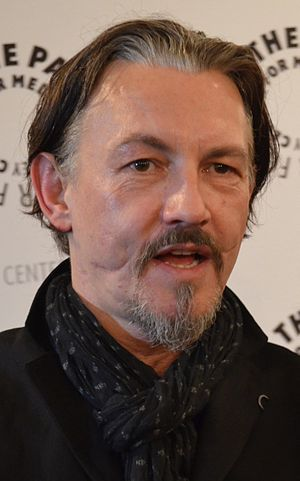 Glasgow smile - Image: Tommy Flanagan March 2012 (cropped)
