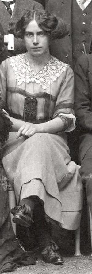 Toni Wolff - Wolff c. 1911 (age 23)