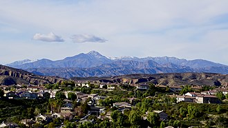 Topatopa Mountains - Northeastern face as viewed from Santa Clarita