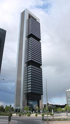 Torre caja madrid ctba for Oficinas caja duero madrid