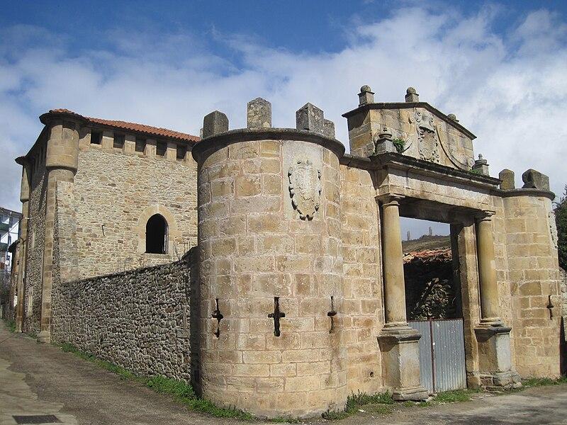Torre de los monteros en Espinosa de los Monteros