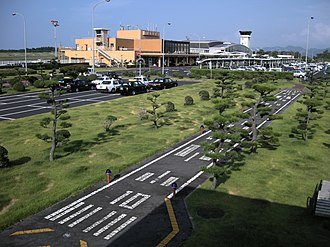 Tottori Airport - The terminal of Tottori Airport