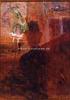 Toulouse-Lautrec - AU THEATRE OU LA LOGE, 1881, MTL.57.jpg