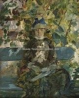 Toulouse-Lautrec - COMTESSE ADELE DE TOULOUSE-LAUTREC, 1882, MTL.77.jpg