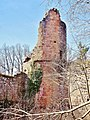 Tour d'angle nord-ouest, du château du Landsberg.jpg