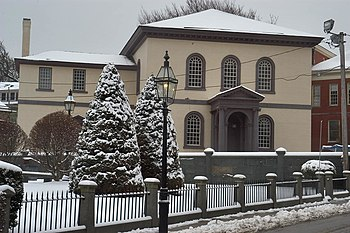 English: Touro synagogue in Newport (Rhode Isl...