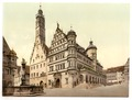 Town Hall, Rothenburg (i.e. ob der Tauber), Bavaria, Germany-LCCN2002696177.tif