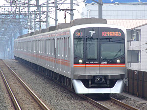 Tōyō Rapid Railway Line - A Toyo Rapid 2000 series trainset