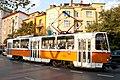 Tram in Sofia near Macedonia place 2012 PD 067.jpg