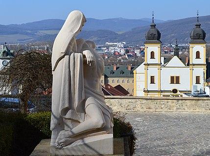 Pietà Sculpture Trenčín