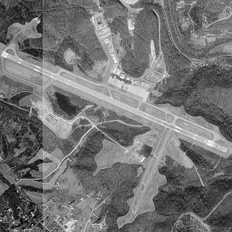 Tri-State Airport - USGS image 1995