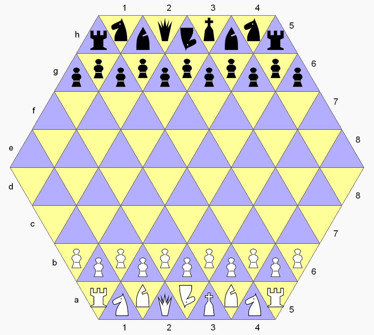 Triangular Chess Wikipedia Move Checkmate Diagram Furthermore Moves In Addition The Event