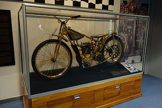Ivan Mauger - Triple Crown Special on display at Canterbury Museum
