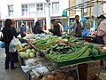 Tropical veg at Chrisp Street market - geograph.org.uk - 864513.jpg