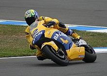 Bayliss in azione su Honda RC211V nel Motomondiale 2005