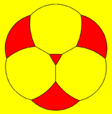 Truncated tetrahedron stereographic projection triangle.png