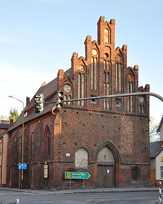 Pomeranian Evangelical Church - Holy Spirit Chapel, Treptow an der Rega, venue of the Pomeranian diet in 1534.