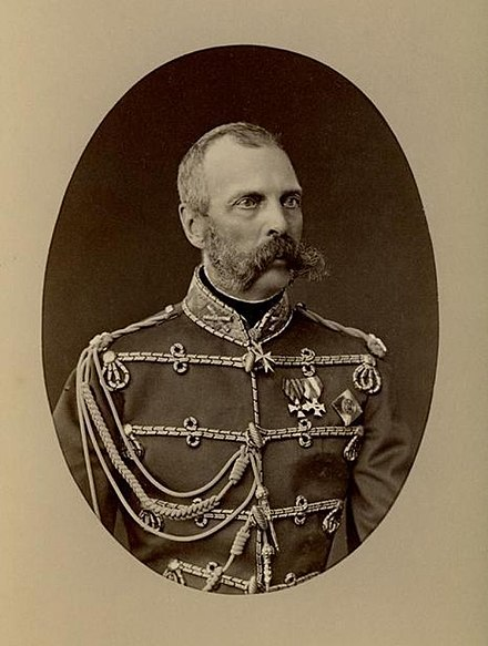 Tsar Alexander II, photo by Sergei Lvovich Levitsky, 1881 (The Di Rocco Wieler Private Collection, Toronto, Canada) Tsar Alexander II 1881.jpg