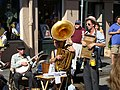 Tuba Skinny in the French Quarter November 2009 02.jpg