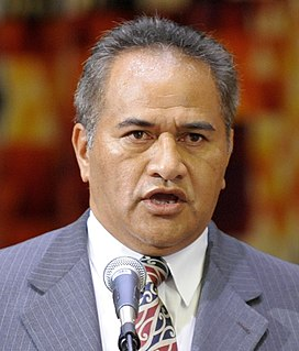 Tuku Morgan New Zealand politician