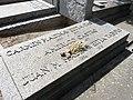 Tumba de Carmen Madinaveitia Castro y Américo Castro, cementerio civil de Madrid 02.jpg