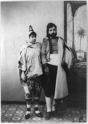 History of the Jews in Tunisia - Jewish couple in Tunisia, 1900