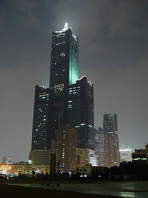 85 Sky Tower - Image: Tuntex Sky Tower night