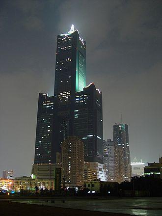 85 Sky Tower - Image: Tuntex Sky Tower night