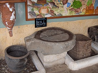 Olive oil - Ancient oil press (Bodrum Museum of Underwater Archaeology, Bodrum, Turkey)