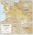 Turkmenistan 1994 CIA map.jpg