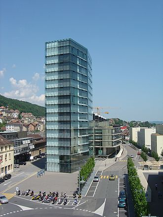 Federal Statistical Office (Switzerland) - Headquarters in Neuchâtel.