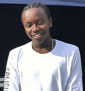 Tusse Congolese-Swedish singer