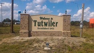 Tutwiler, Mississippi - Image: Tutwiler MS Welcome Sign